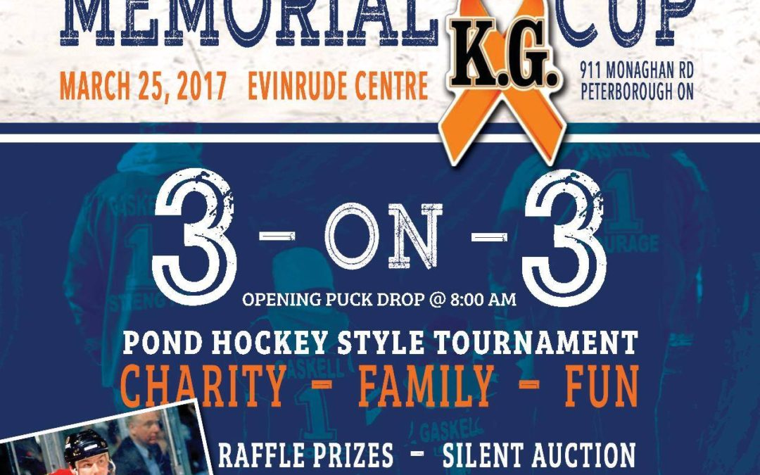 6th Annual Kirk Gaskell Memorial Cup