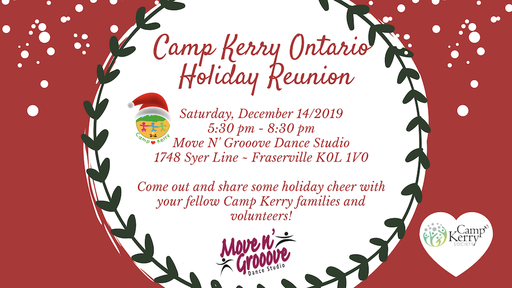 Camp Kerry Ontario Holiday Reunion