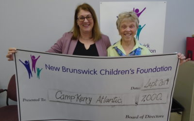 New Brunswick Children's Foundation Making a Difference Once Again