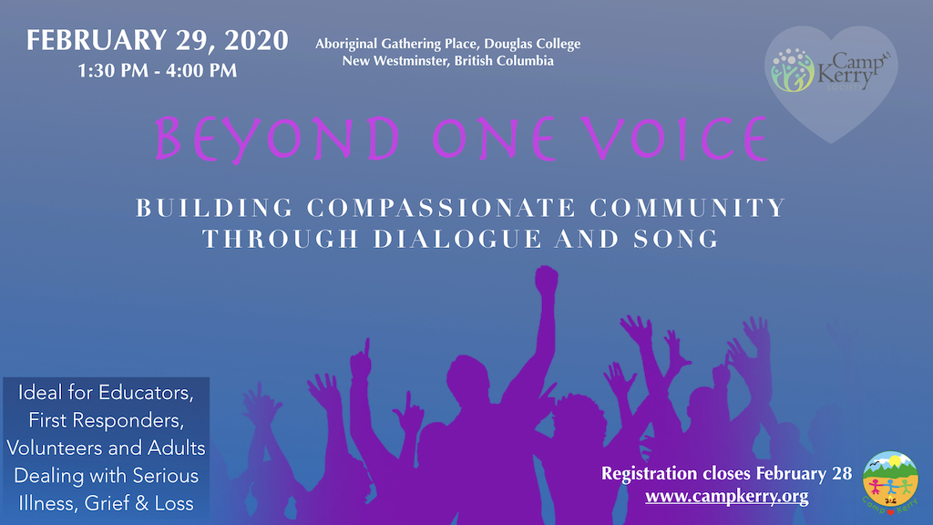 Beyond One Voice: Building Compassionate Community Through Dialogue and Song