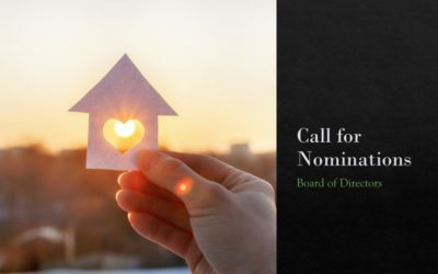 Call for Nominations 2020: Board of Directors