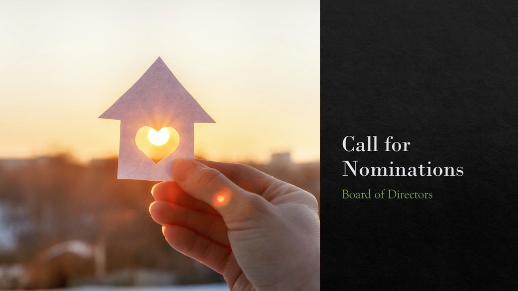 Call for Nominations 2021