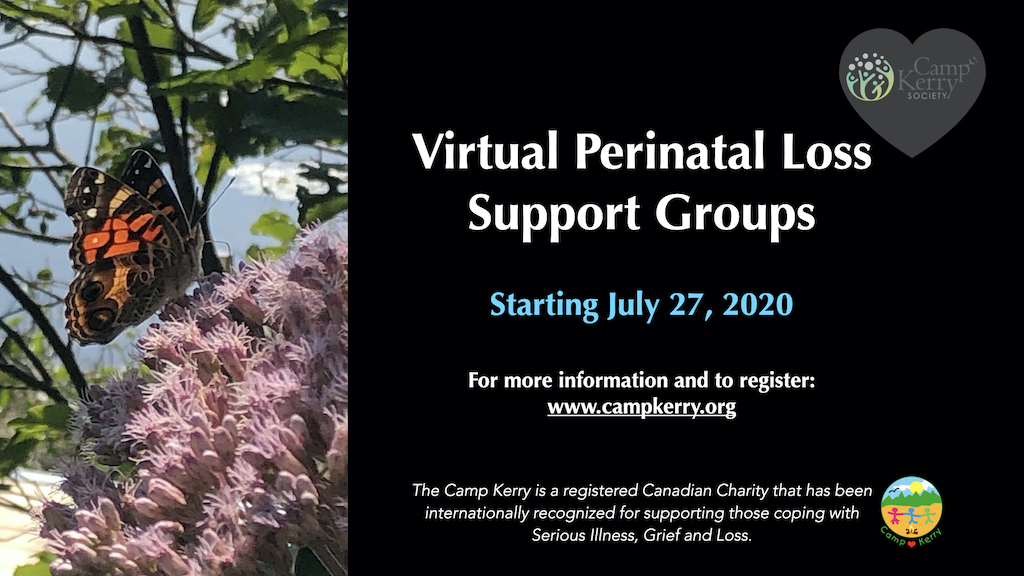 Virtual Perinatal Loss Support Groups: Summer Session 2020