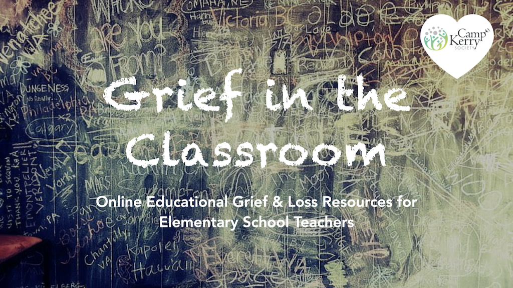 Grief Modules for Teachers