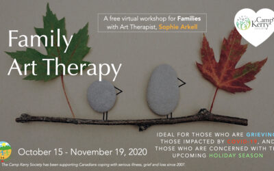 Family Art Therapy: Fall Virtual Series