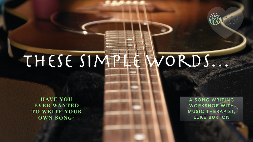 These Simple Words: Songwriting Workshop