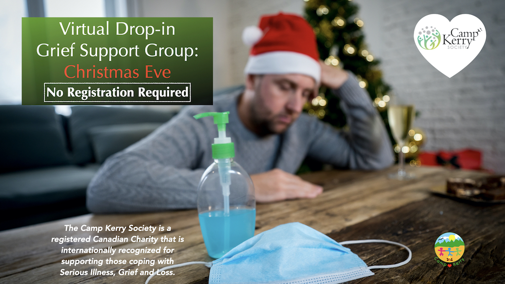 Drop-in Grief Support Group: Christmas Eve 2020