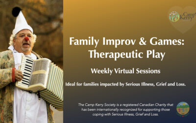 Family Improv & Games: Virtual Therapeutic Play Sessions