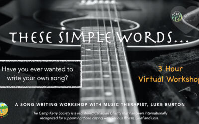 These Simple Words: Three Hour Song Writing Workshop