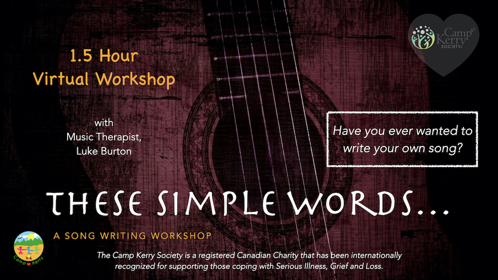 1.5 Hour Song Writing Workshop
