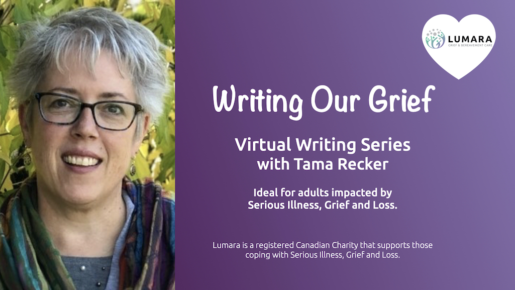 Writing Our Grief: Virtual Workshop Series